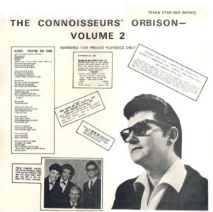 The Connoisseur\'s Orbison TS 003