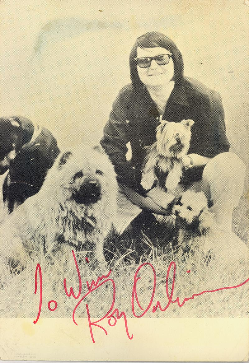 Roy Orbison Autograf