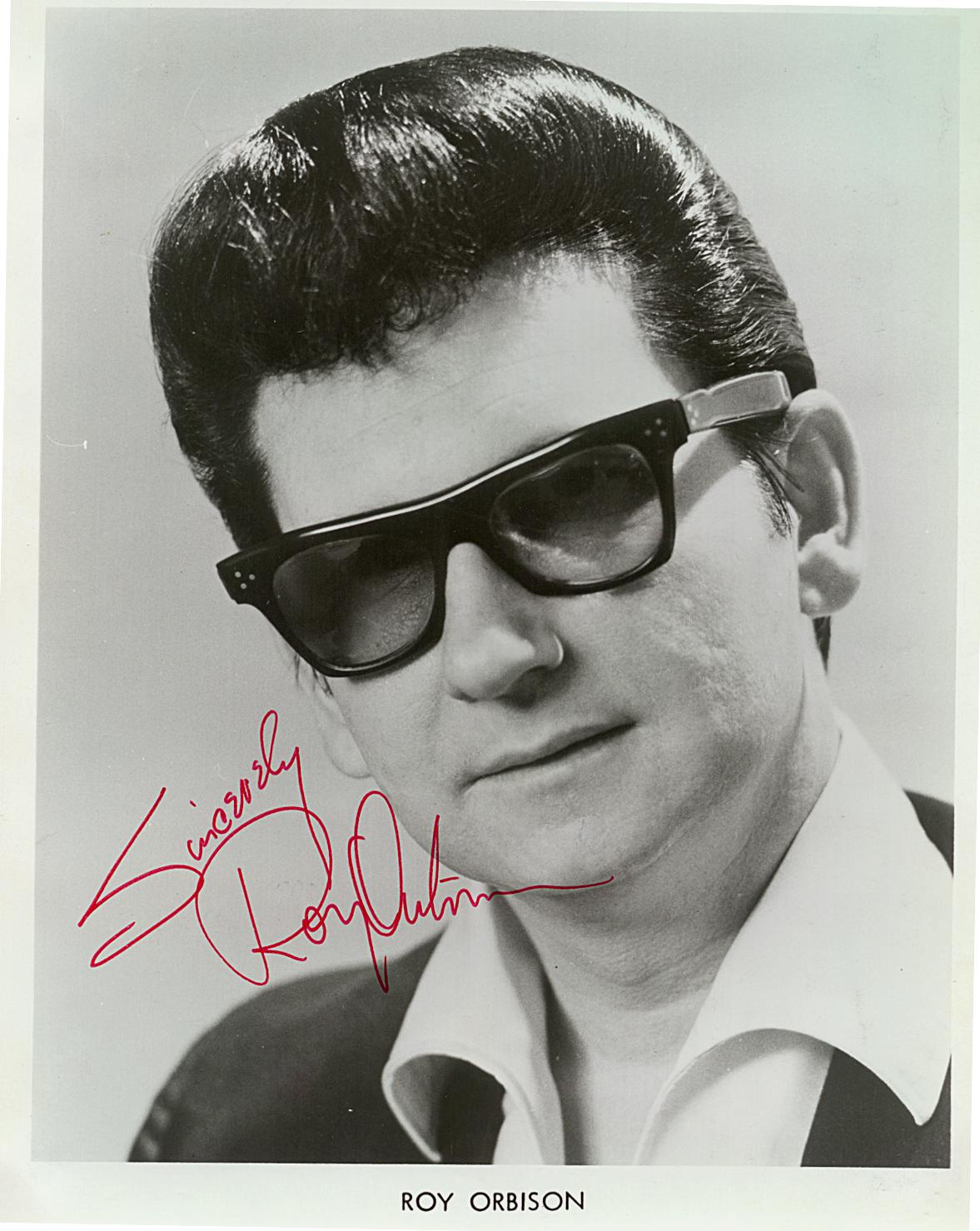 Roy Orbison Autograf (1)